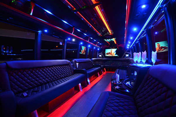 40 Person Party Bus Rental Atlanta
